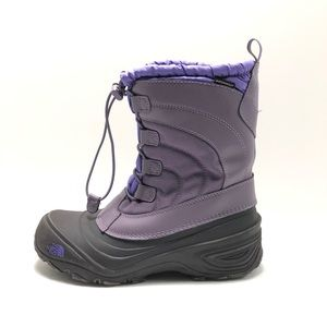 THE NORTH FACE Alpenglow Girl's Winter Boots Sz 6
